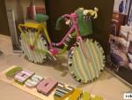 Выставка дизайнерских велосипедов в ТЦ «Домосфера»