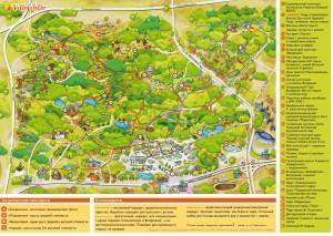 Карта Велоспринт
