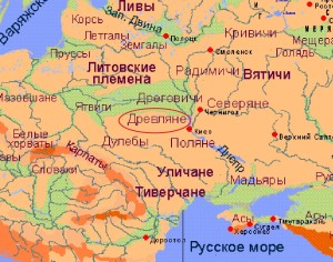 Карта_древляне