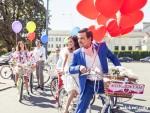 Вело-свадьба на круизерах